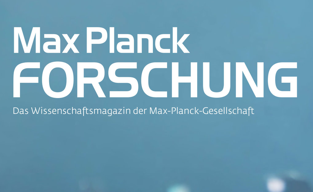 MaxPlanckResearch contains a wide variety of articles about research going on at the institutes of the Max Planck Society.