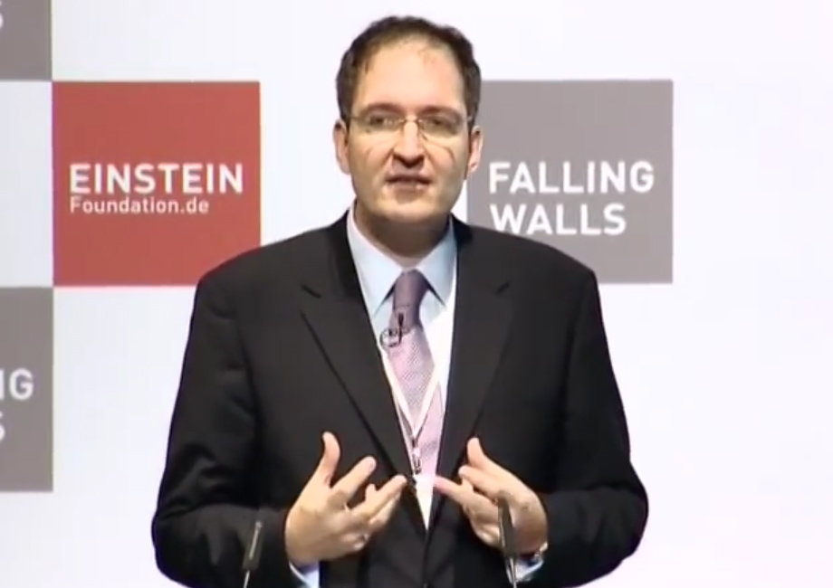 Peter Seeberger - Breaking the Wall of Expensive Vaccines @Falling Walls 2009